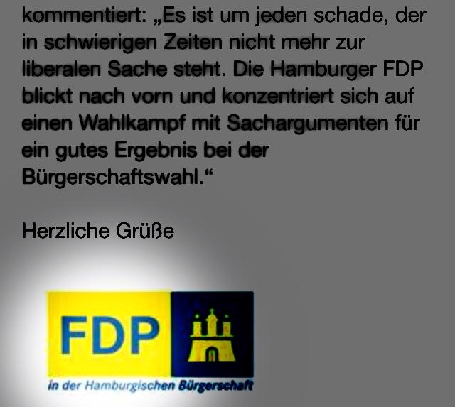 Wichtigster FDP-Textbaustein des Herbstes